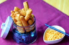 Fiery Cheese Straws 500