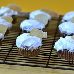 Ginger Pumpkin Cupcakes