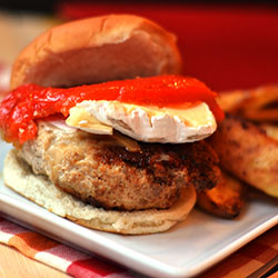 Jacked up Turkey Burgers
