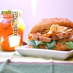 Ancho Chicken & Smoked Gouda Sandwich