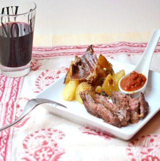 Ancho Chili Rubbed Steak