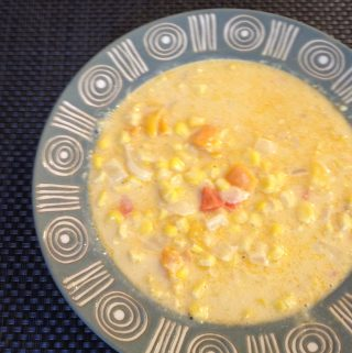 Corn & Cheese Soup