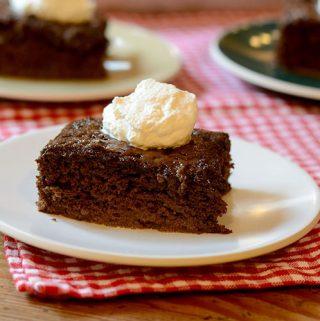 Mocha Tres Leches Cake