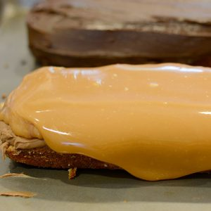 Caramel layer contrast 500