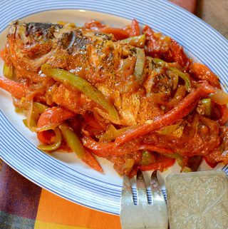 Mexican Poached Red Snapper