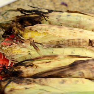 Grilled corn 500