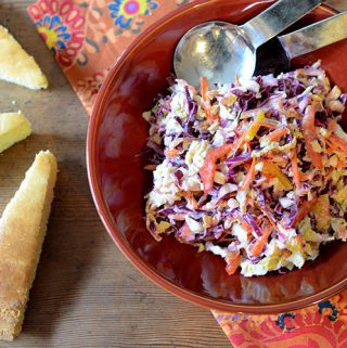 Cole Slaw with Cumin Vinaigrette