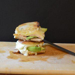 Grilled Turkey Havarti Cheese Sandwich #sandwich #grilled cheese
