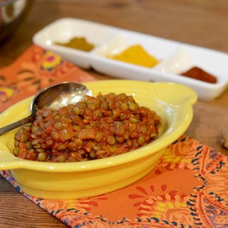 Curry Lentils
