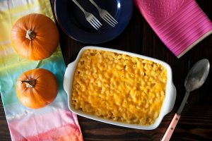 Pumpkin mac n Cheese