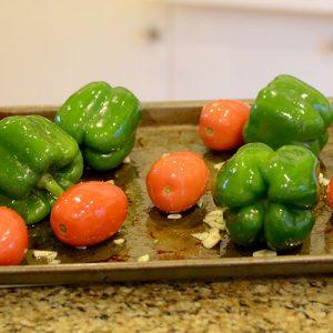 Peppers pre-roast 500