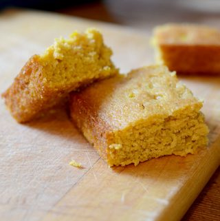 Pumpkin Honey Corn Bread