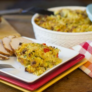 Cajun Cornbread Stuffing – Cajun Week Day 5 – #Thanksgiving