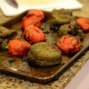Roasted Peppers 500