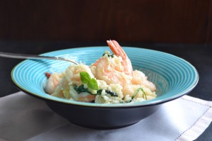 Shrimp & Feta Risotto