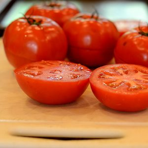 Tomatoes sliced 500