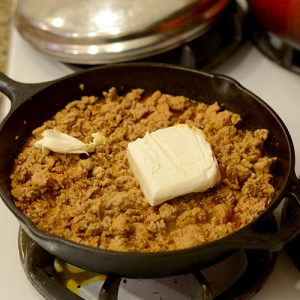 Cream cheese added 500