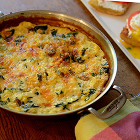 Egg-Frittata-with-Mushrooms-Onions-Spinach-and-Cheese