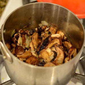 Mushroom onion saute 500