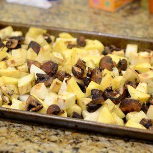 Veggies post baking 500