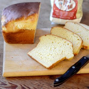 Gluten Free Honey White Bread #bread #honey #glutenfree | feedyoursoul2.com
