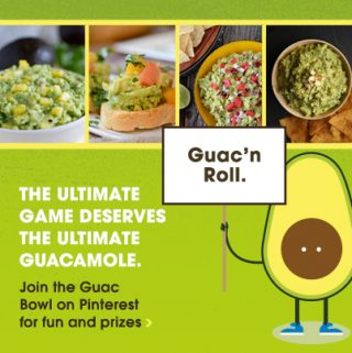 Friday Five – Guacamole addition