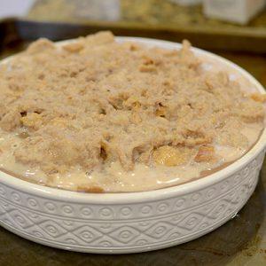 In baking dish 500