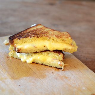 Gluten-Free Bread Grilled Cheese Sandwich
