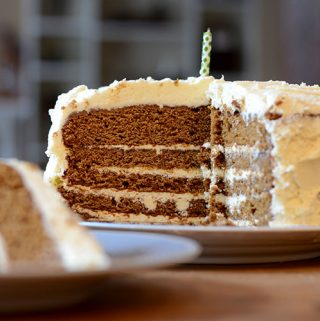 Gingerbread Latte Cake