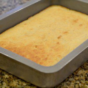Cake After Baking