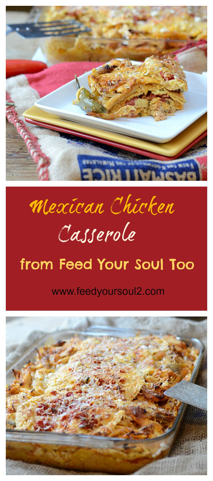 Mexican Chicken Casserole #mexicanfood #chicken #fusion | feedyoursoul2.com