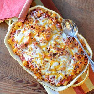 Baked Pasta #pasta #comfortfood #Italian | feedyoursoul2.com