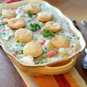 """""""Chicken Pot Pie   #Potpie #chicken #biscuits #comfortfood / feedyoursoul2.com"""""""