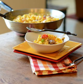 Three Cheese Mexican Pasta