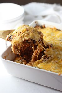 Cheesy-Chicken-Enchilada-Quinoa-Bake