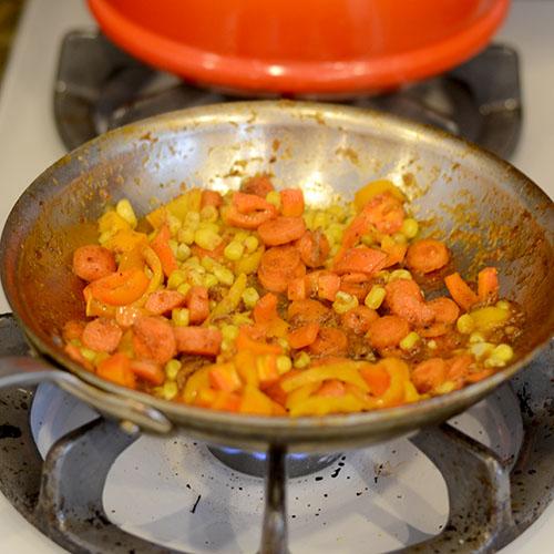 Saute veggies 500