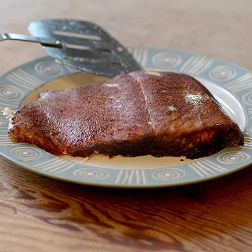 Smoked salmon 500