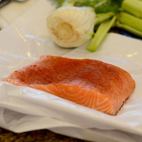 Spiced salmon 500