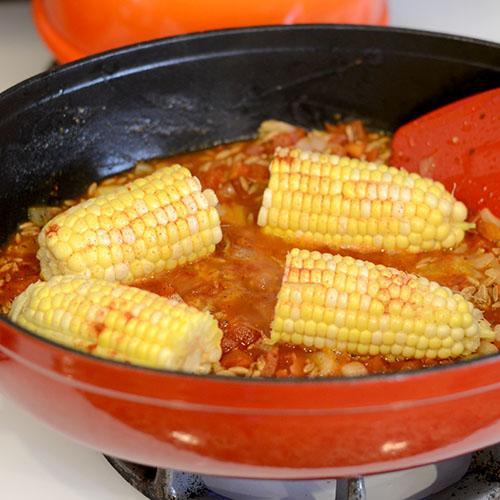 Corn added 500