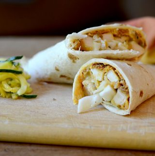 Chicken Milanese Wrap