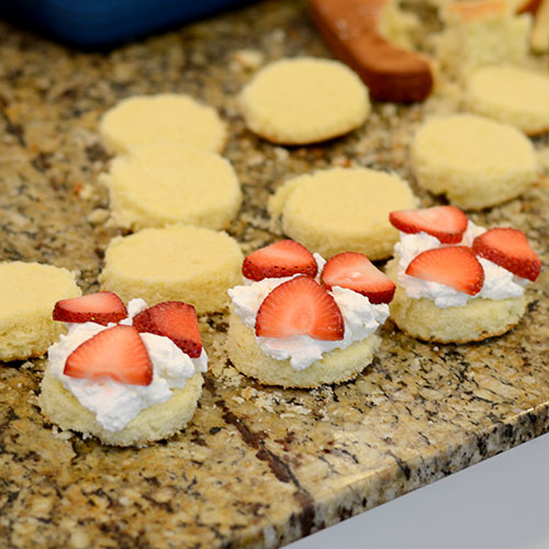 Strawberries added 500