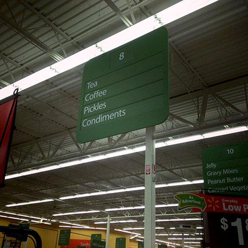 Walmart Aisle 500