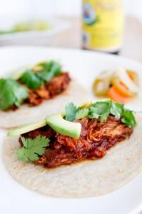 Braised Chicken Tacos