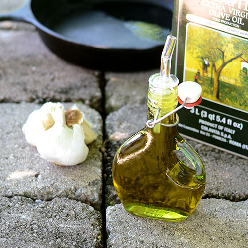 infused, garlic, olive oil