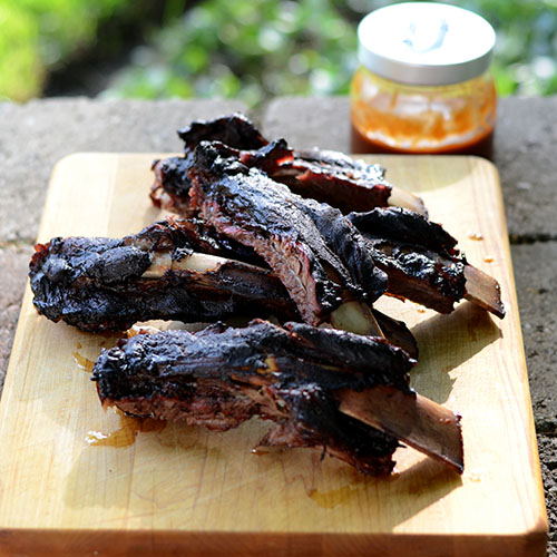 Smoked Beef Ribs from Feed Your Soul Too