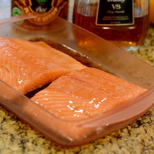 Salmon marinade 500