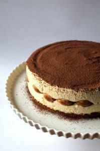 Tiramisu Cheesecake, Italian, American, dairy, chocolate, ricotta, dessert