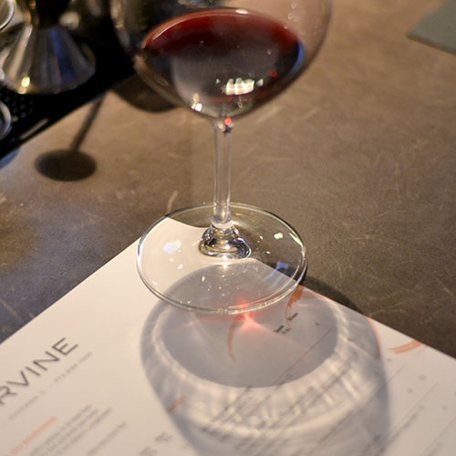 coppervine, chicago restaurant, Wine & menu, pairings