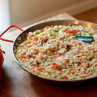 Green Enchilada Rice