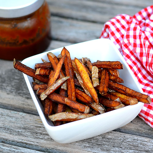 Twice Fried French Fries